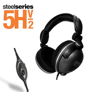 Casque multimédia SteelSeries 5Hv2 noir