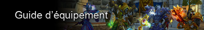 Équipement : Transmogrification