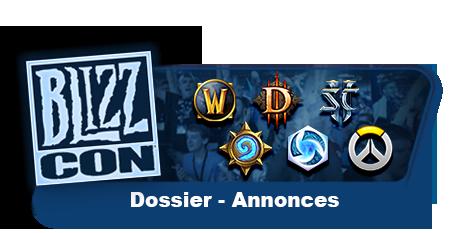 Dossier Blizzcon 2017