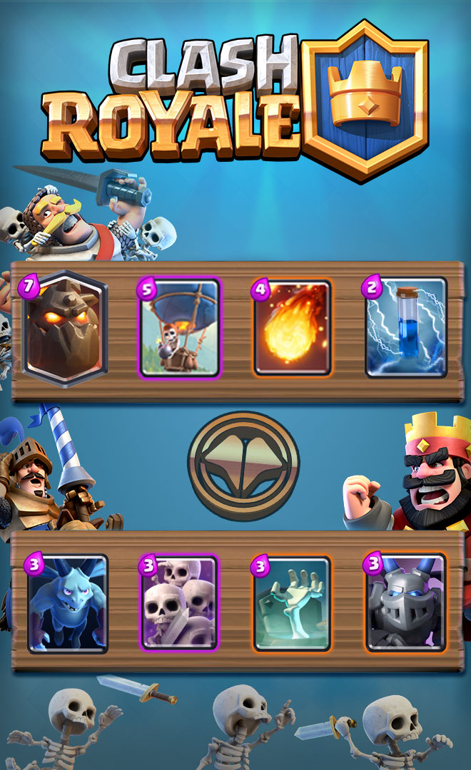 Meilleur deck molosse millenium for Clash royale deck molosse