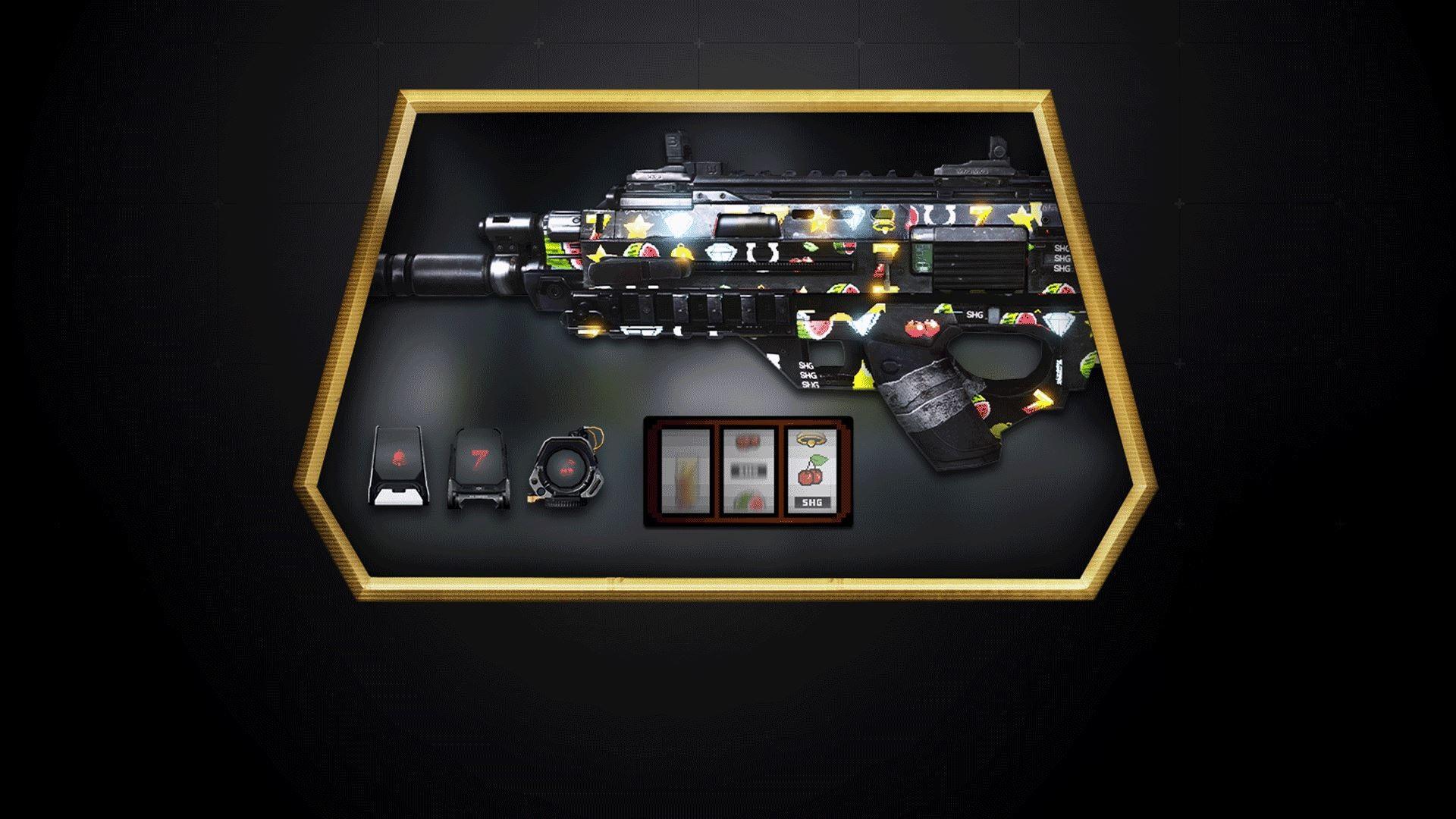 Le Premier De Ces 4 Camouflages Est Jackpot Inspire Des Machines A Sous Et Casinos Ce Camouflage Vous Permettra Montrer Que Allez