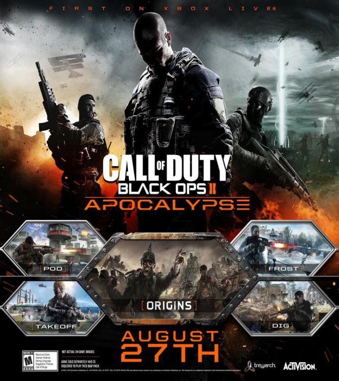 Carte Black Ops 2 Zombie.Apocalypse Black Ops 2 Millenium
