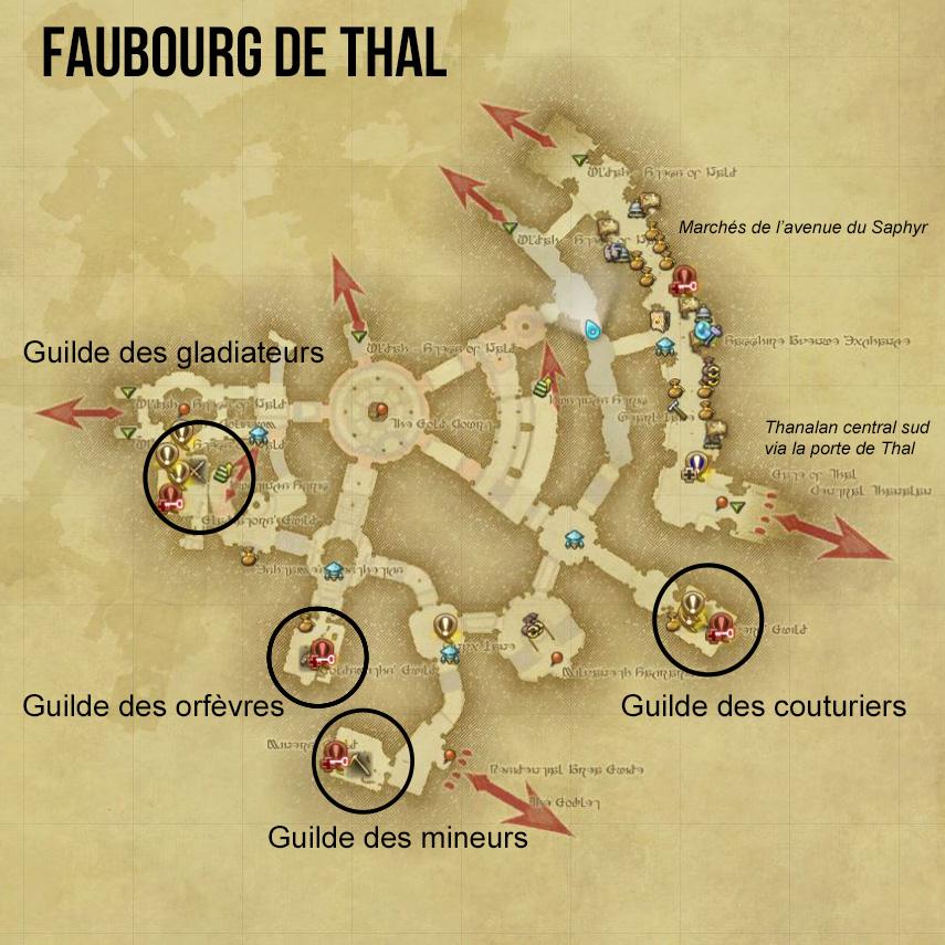 artisanat et r colte final fantasy xiv guide pour
