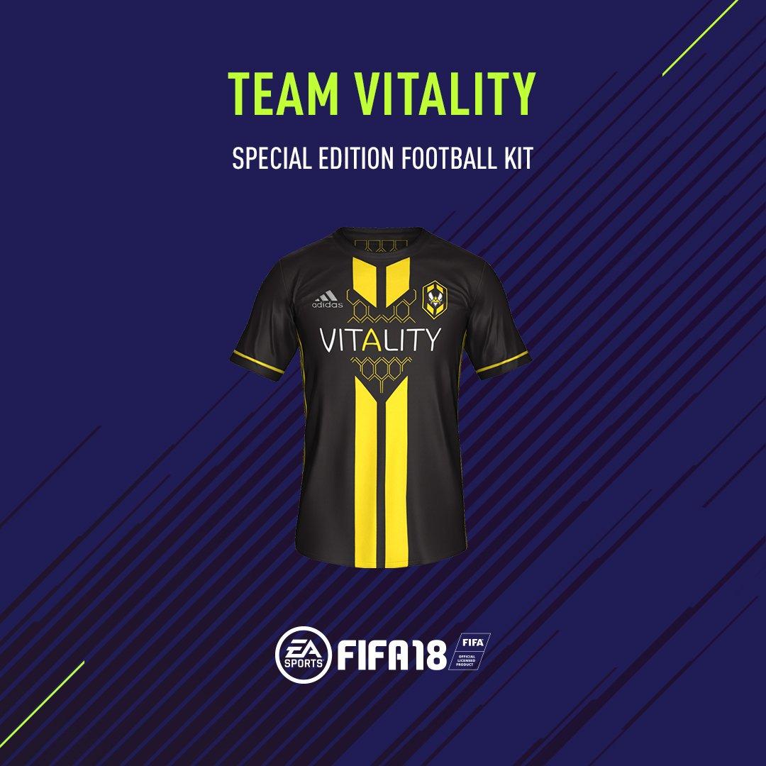 Tee shirt Gotaga team Vitality Adidas