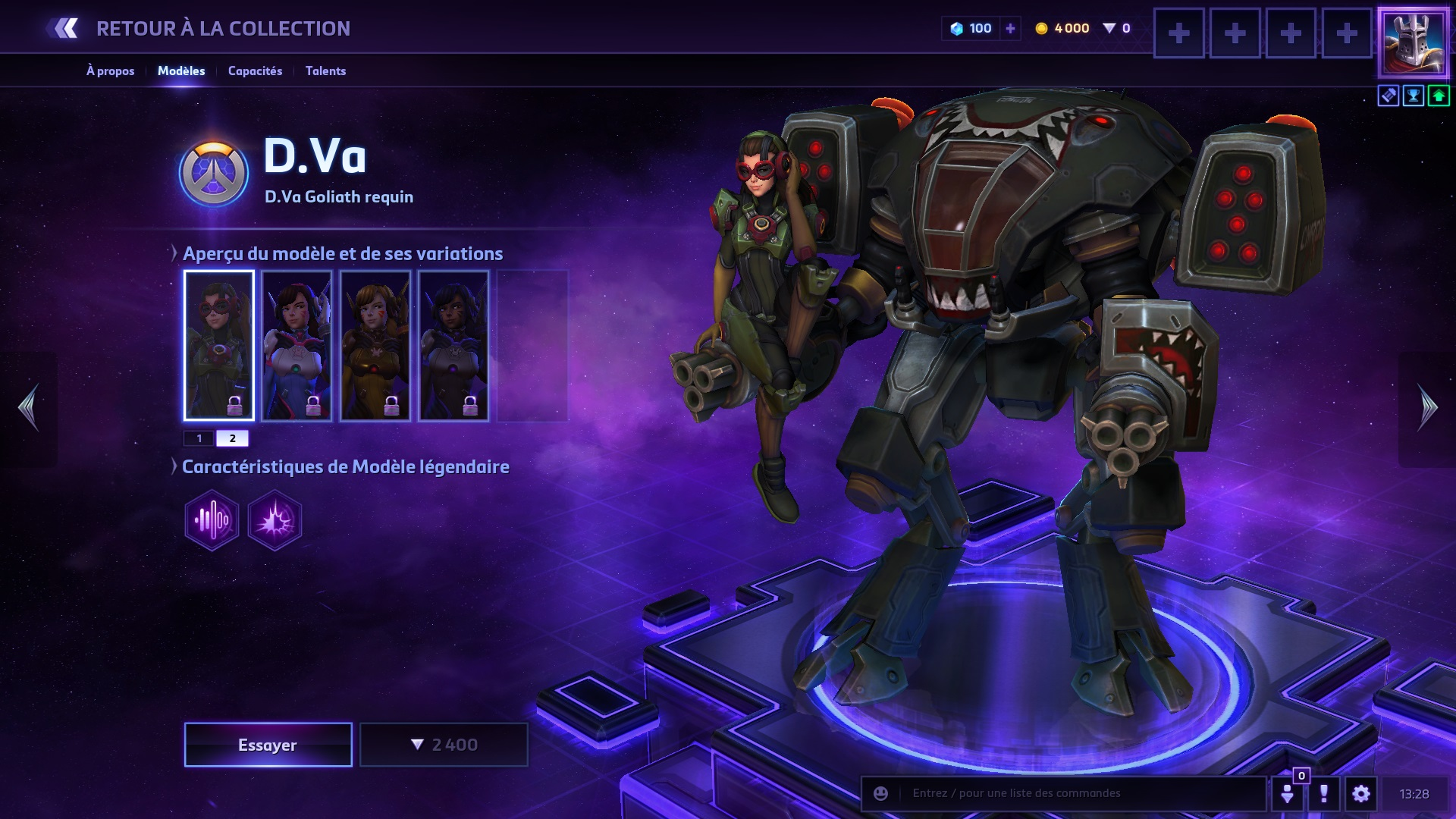 Hots Best Dva Build