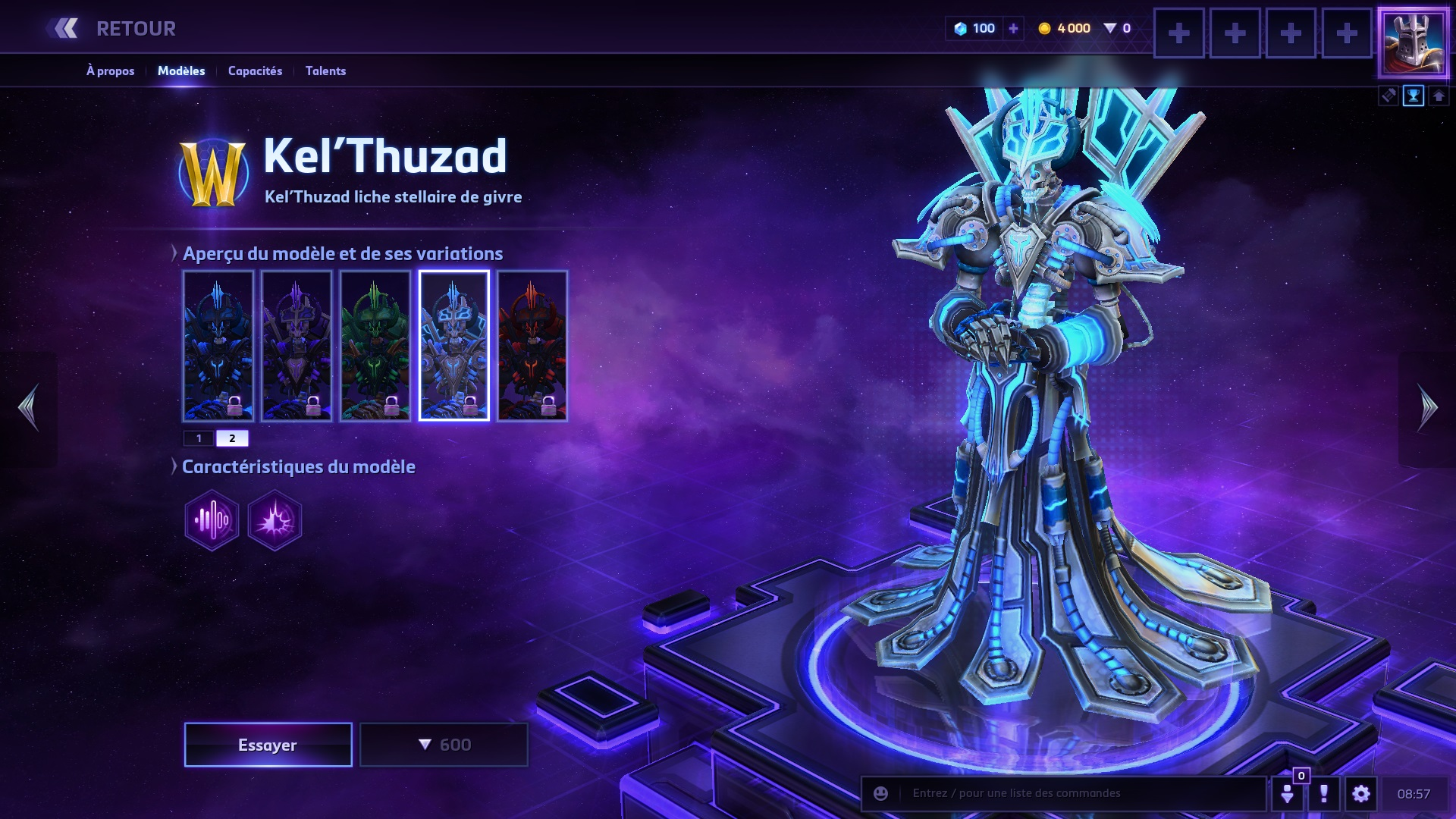 Kel'Thuzad - Heroes of the Storm Wiki