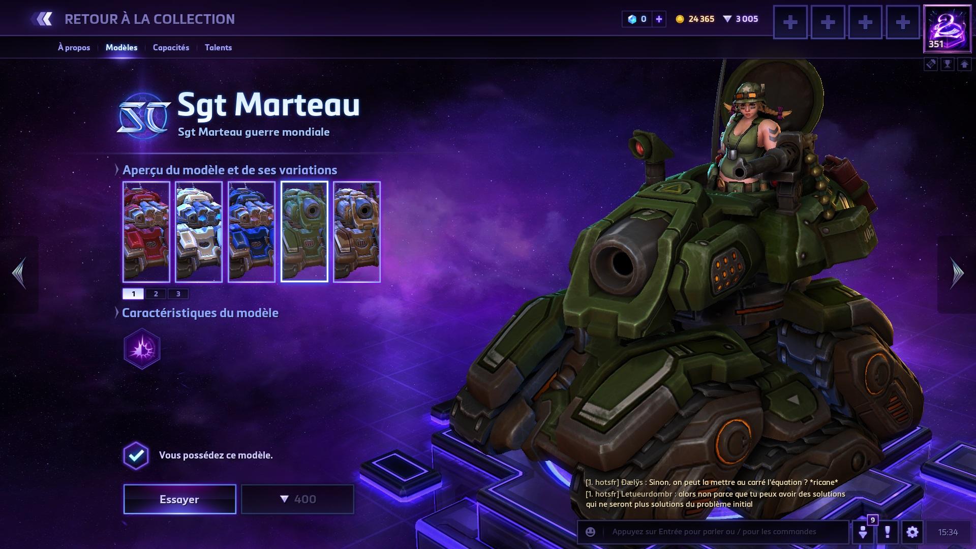 Build Marteau Hots