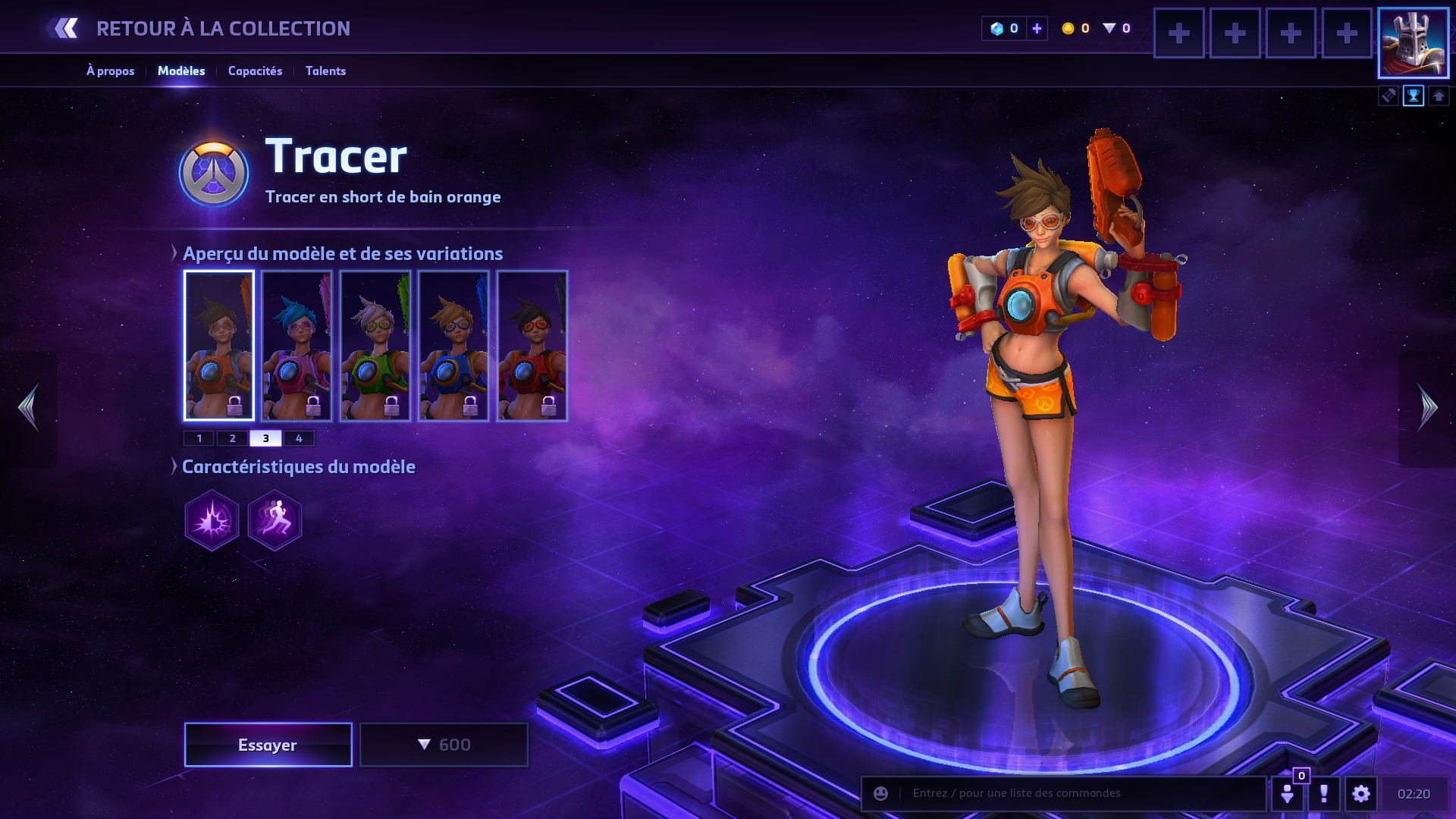Build Tracer Hots Millenium