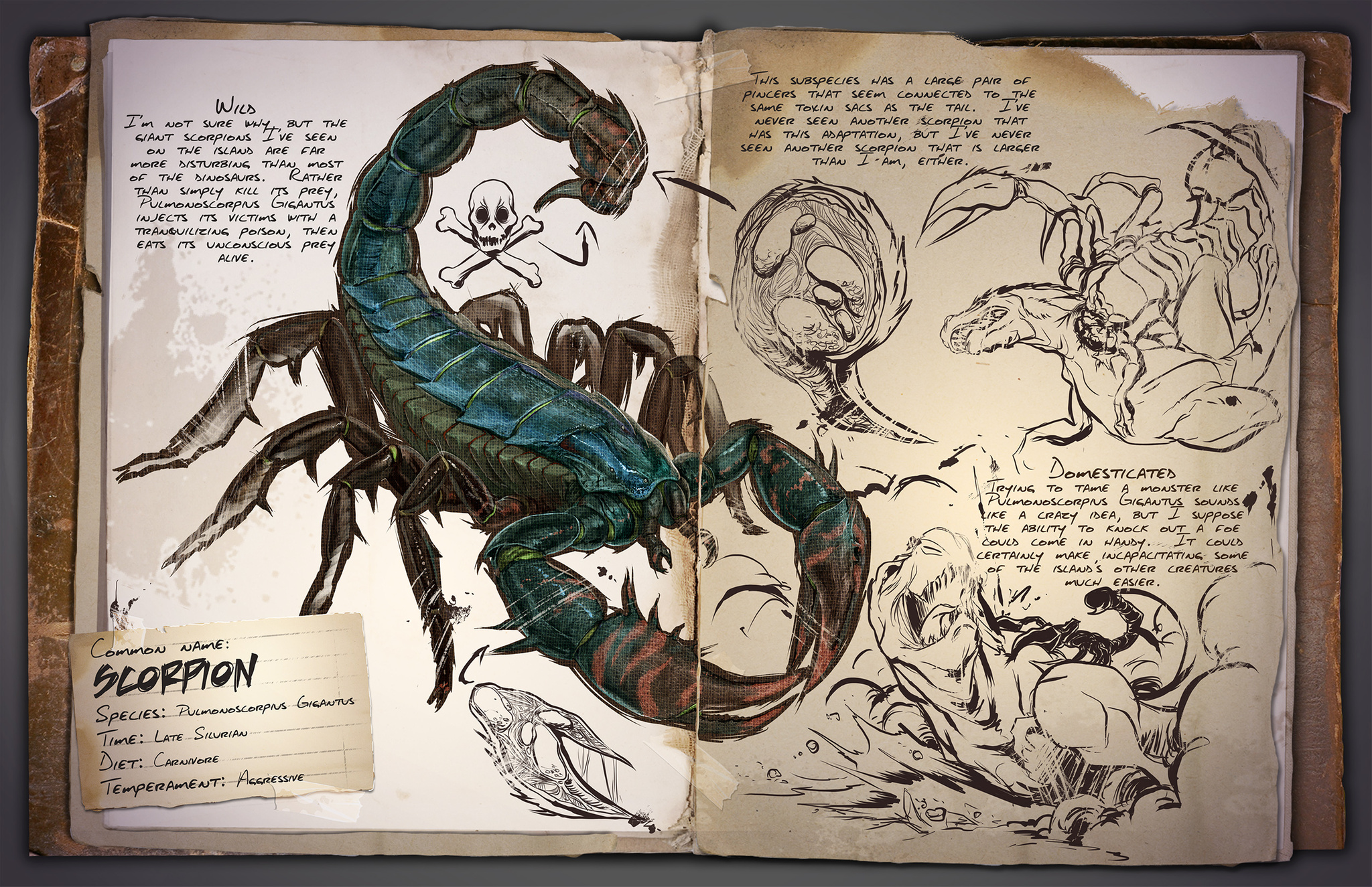 Ark scorpion millenium for Plant x ark aberration