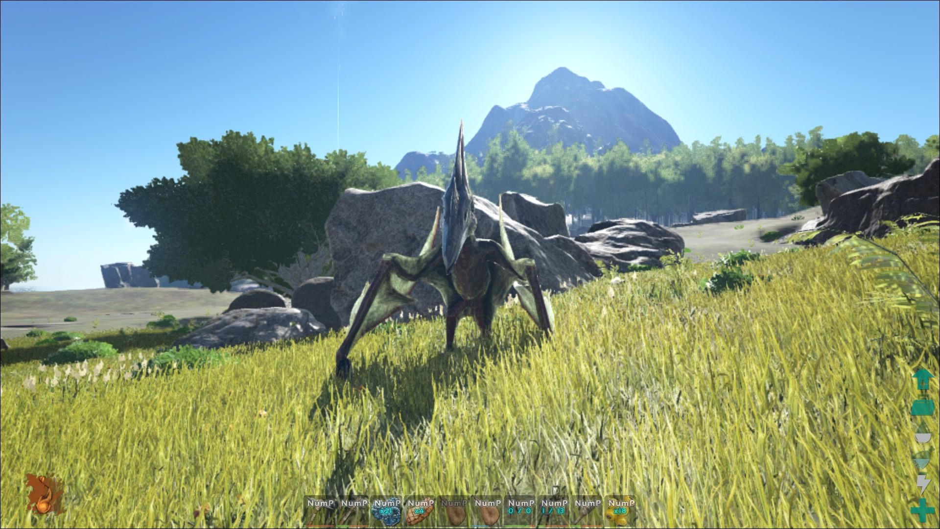 Ark pteranodon millenium - Dinosaur volant ...