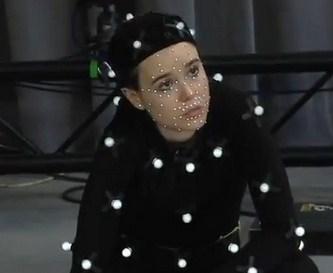 Ellen Page sur le tournage