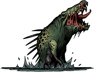 Darkest Dungeon The Crimson Court Crocodilien
