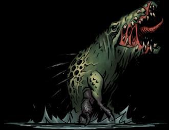 Darkest Dungeon The Crimson Court Crocodilien