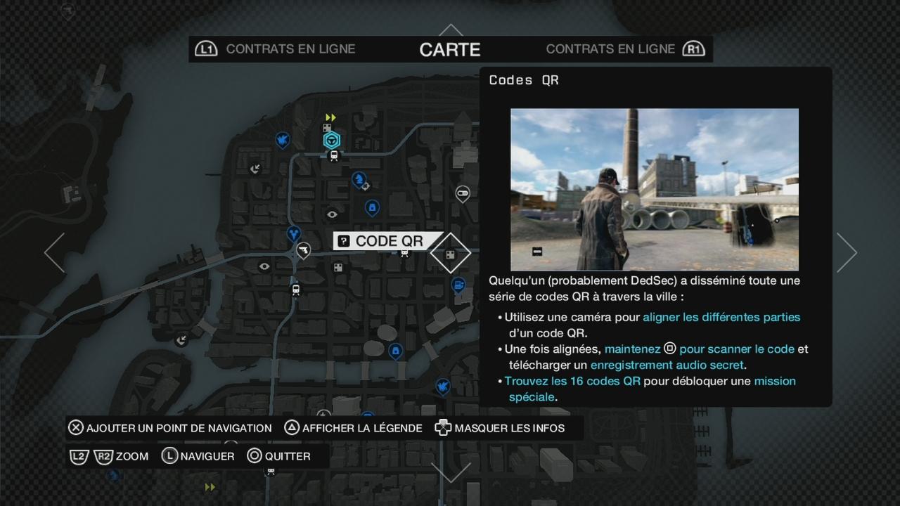 Nom Des Missions Watch Dogs