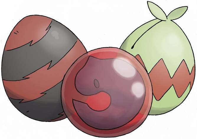 oeufs de Pokémon