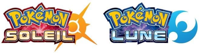Logos de Pokémon Soleil & Lune