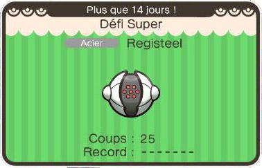 Le Défi Super de Registeel revient sur Pokémon Shuffle !