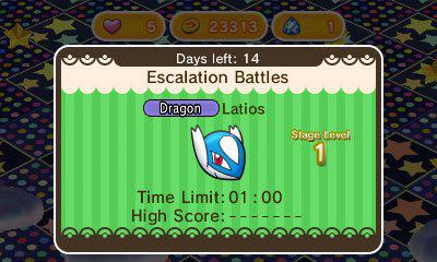 Latios revient sur Pokémon Shuffle