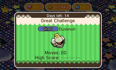 Noctunoir revient sur Pokémon Shuffle