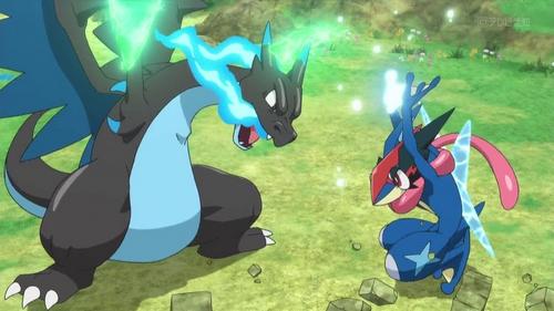 Pokemon r sum episode xy z038 millenium - Evolution de dracaufeu ...