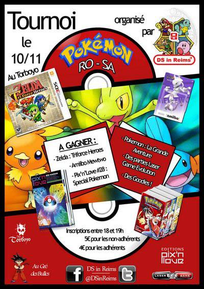 Tournoi Pokémon DS in Reims au Torboyo