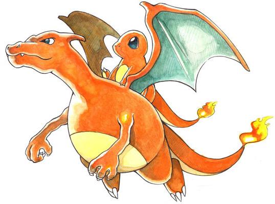 Popularit des starters pok mon millenium - Pokemon evolution salameche ...