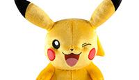 Pikachu qui fait un clin d'oeil