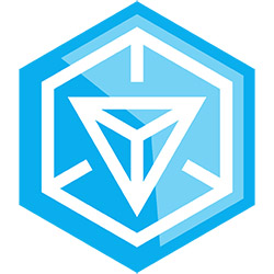 Le logo d'Ingress