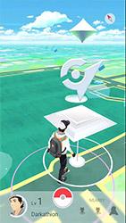 Une arène de Pokémon GO