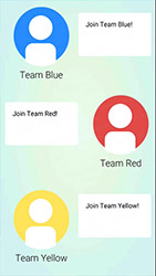 Choix d'une équipe