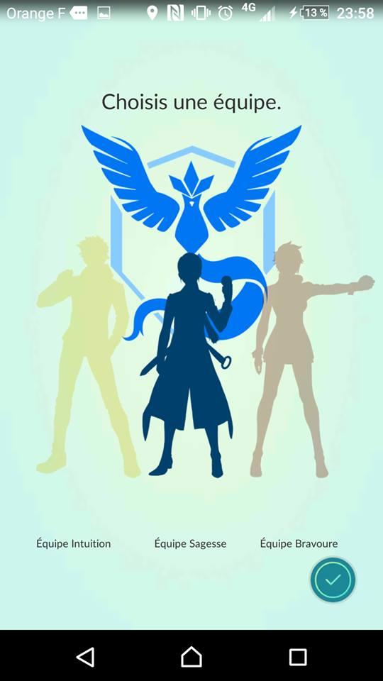 Team bleue, Mystique