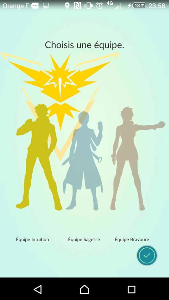 Team jaune, Instinct