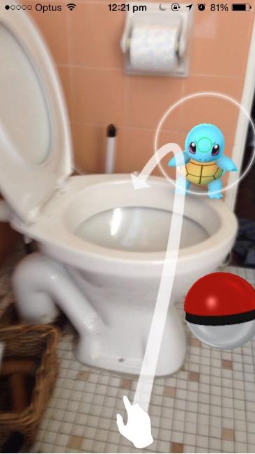 carapuce wc