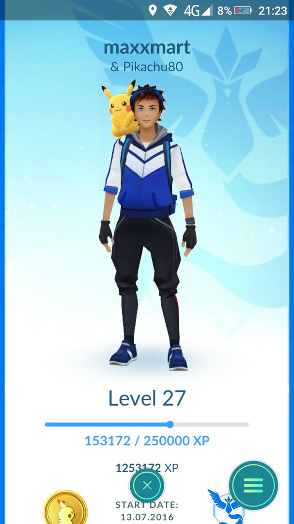screenshot du Pikachu sur l'épaule