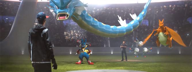 Une arène Pokémon GO dévoilée dans la pub du Super Bowl 2016