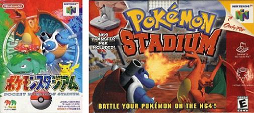 "Pokémon Stadium ""0"" et Pokémon Stadium 1"