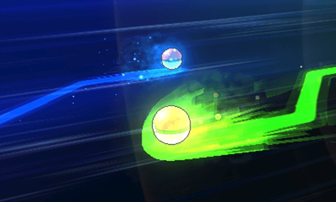 Visuels du système d'échange de Pokémon Soleil Lune