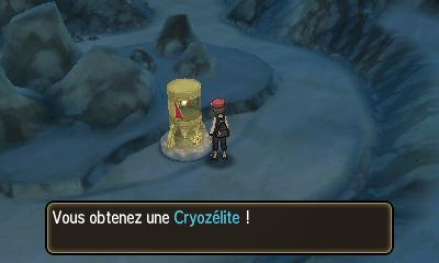 Cryozélite
