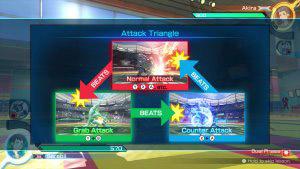 Le triangle des attaques dans Pokkén
