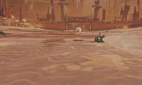 Arène Wasteland Rocket League