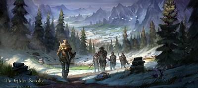 The Elder Scrolls Online Artrwork