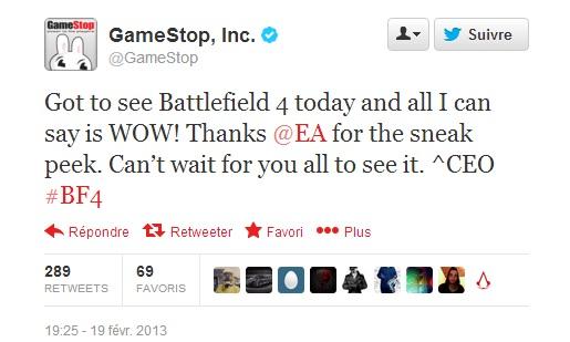 Battlefield 4 annoncé - information