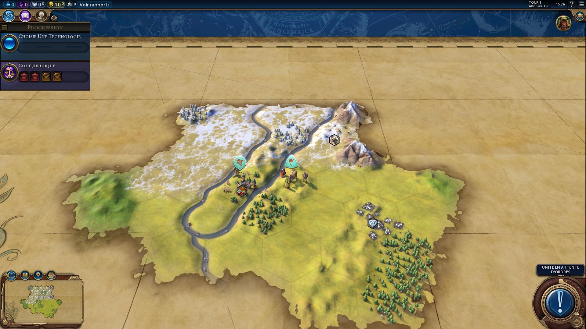 Civilization 6 : Build order - Millenium