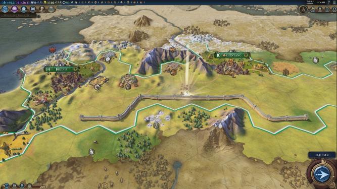 Civilization 6 : Grande muraille