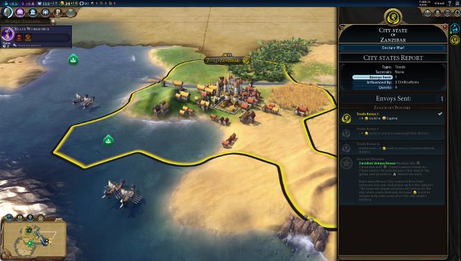 Civilization 6 : Cités-états
