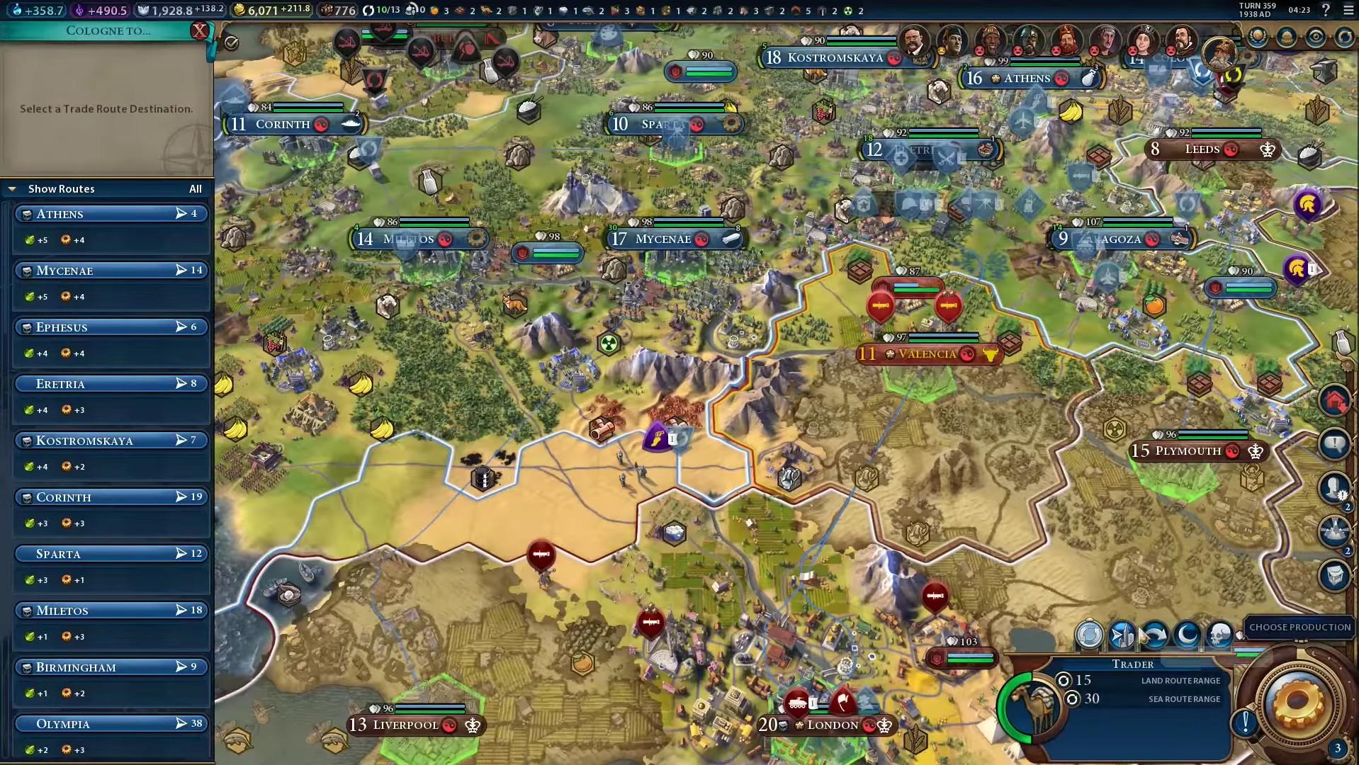 Civilization 6 : Commerce