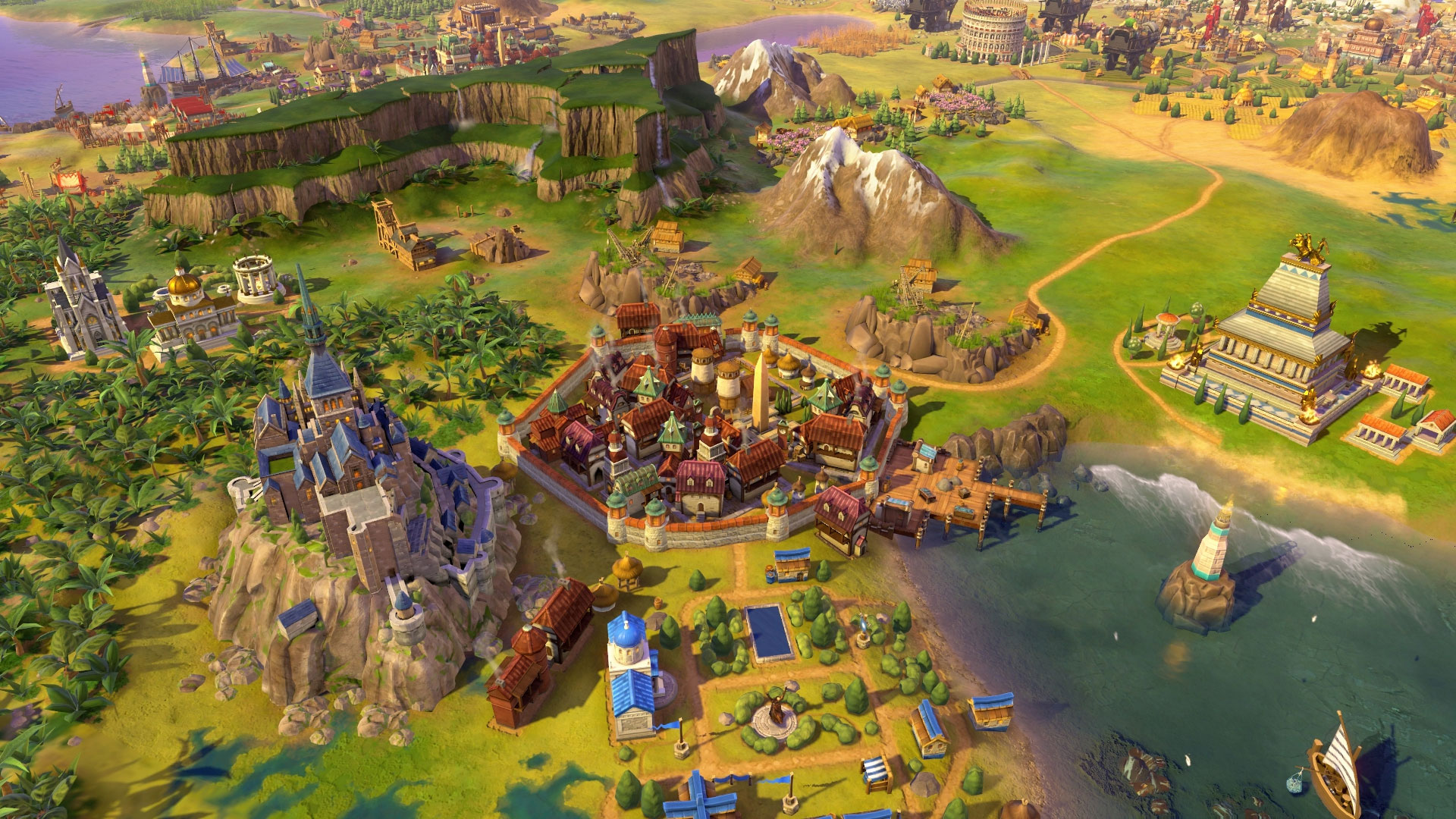 Civilization 6 : Rise and Fall Géorgie