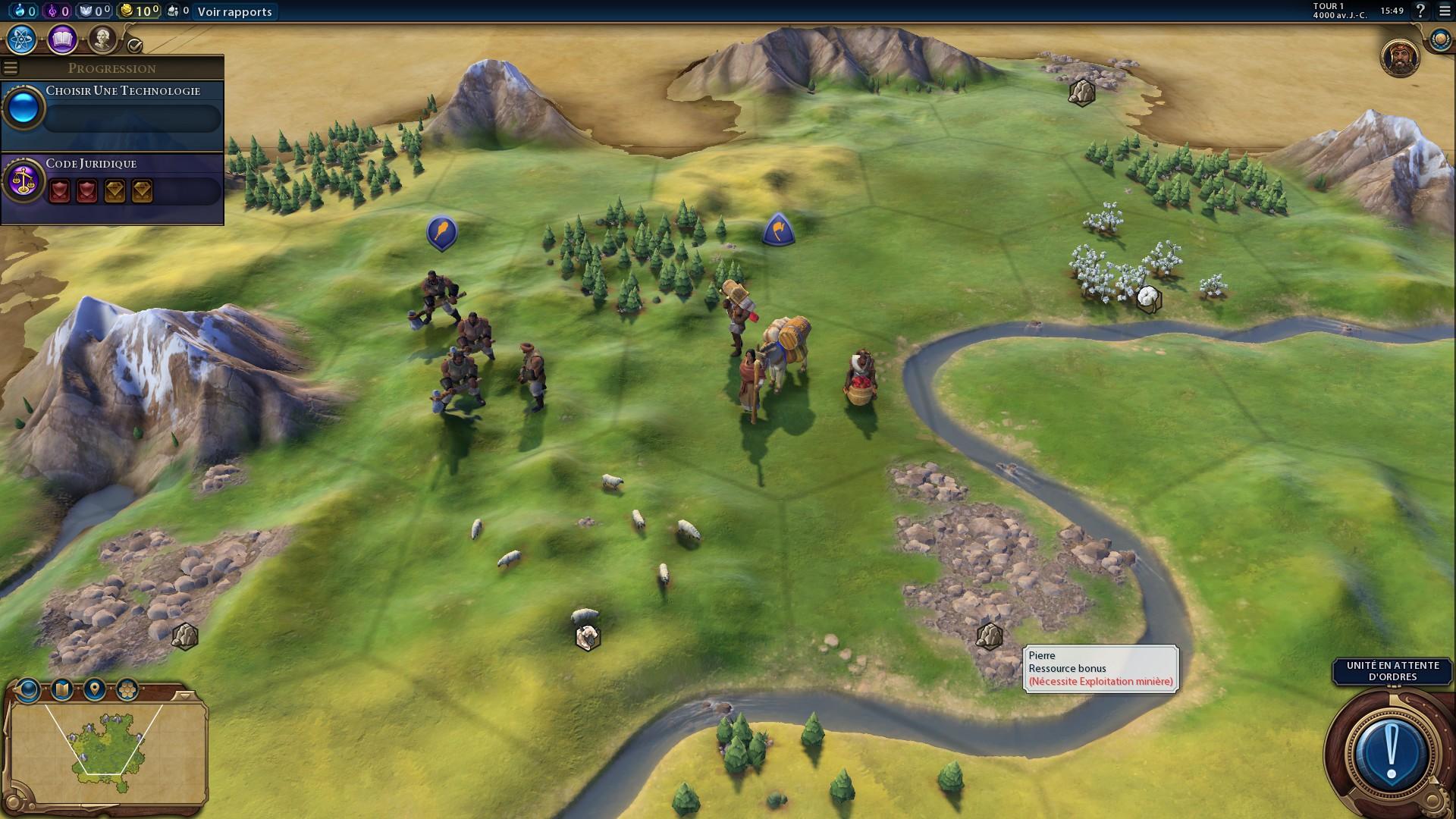 Civilization 6 Activités - Amenities