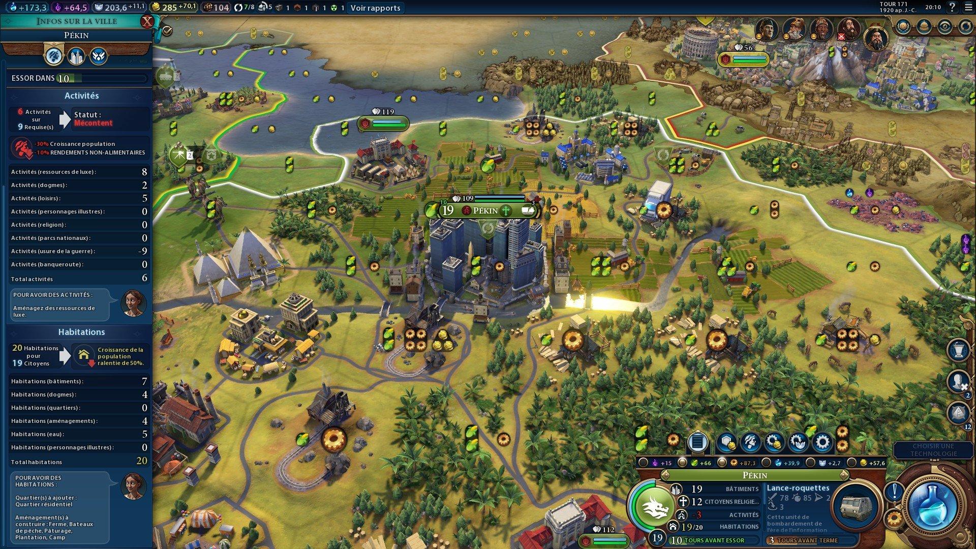Civilization 6 : Habitation