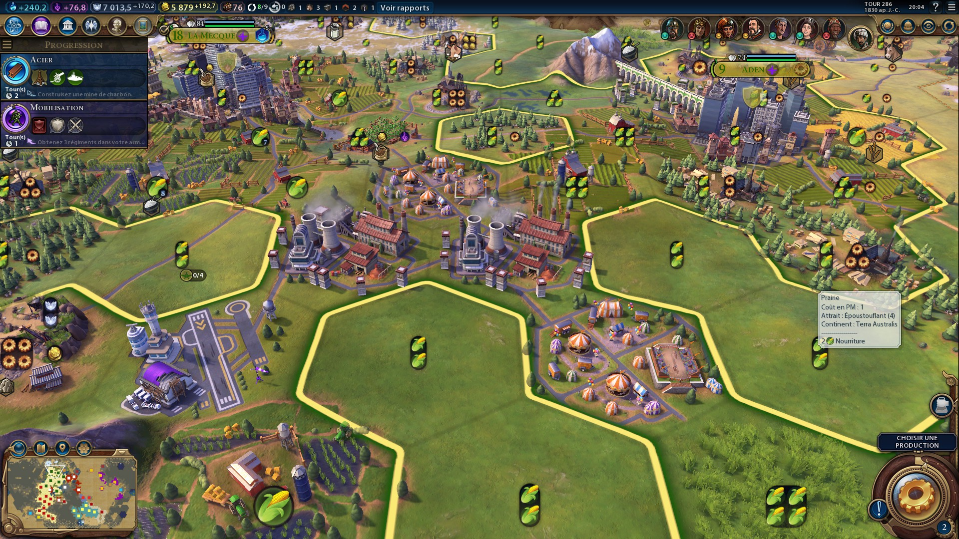 Civilization 6 : Quartiers